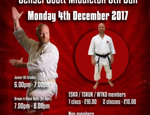 ESKA Presents Sensei Scott Middleton 6th Dan – WTKO International Director