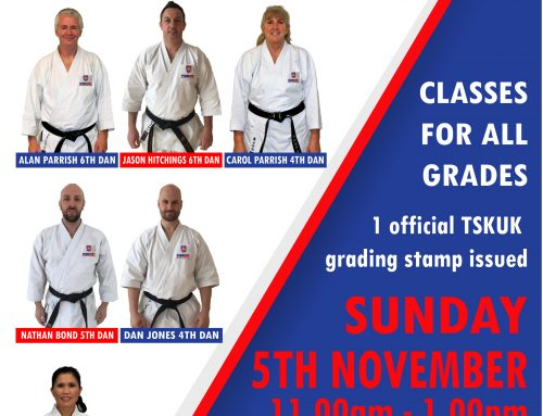 FREE 1 Day TSKUK Course + 1st & 2nd Dan Grading in Norwich.