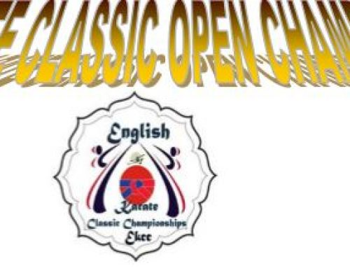 EKCC Karate Open on Sunday 12th November 2017 – Clacton Sports Centre.