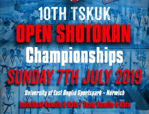 You are invited to the 10th TSKUK Open Shotokan Championships
