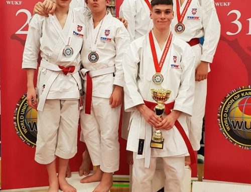 ESKA Members Represent TSKUK at British Open Karate Championships
